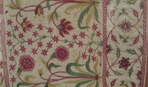 Late 17th or early 18th Century Cotton made in Western India for the British market